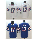 New Men's Buffalo Bills #17 Josh Allen Blue/White Jersey Size M-3XL $52.88 USD on eBay