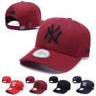Unisex Embroidered NY New York Yankees Logo Baseball Caps Adjustable Sun Hats on Ebay