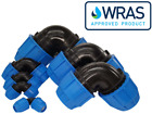 MDPE Plastic Compression 90° Elbow Fitting PE100 LDPE Water Pipe WRAS Approved