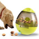 Pet Dog Tumbler Toys Interactive Food Dispenser Feeder IQ Puzzle Treat Ball Gift