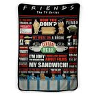 Friend TV Show The Tv Series My Sandwich Blanket ( KIDS / MEDIUM / LARGE ) image