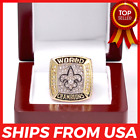 FROM USA - Super Bowl XLIV Championship Official NEW ORLEANS SAINTS 2009 Ring $19.45 USD on eBay