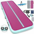 20 FT Air Track Inflatable Tumbling Mat for Gymnastics Cheerleading w/ Pump image