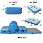 10/13/16/20ft Air Track Inflatable Gymnastics Tumbling Airtrack Mat w Pump image