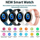 Women Men Fashion Bluetooth Smart Watch Waterproof Heart Rate for iOS Android