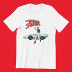 Vintage Speed Racer T-shirt retro 1967 Japanese anime cartoon 100% cotton  image