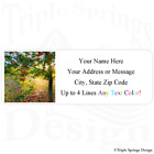 30 Apple Tree Personalized Return Mailing Address Labels 1