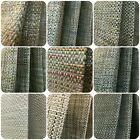 Bill Beaumont Haig Natural Organic Woven Curtain Fabric Material 137cm wide