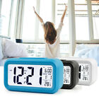 Digital LCD Display Alarm Clock Calendar Thermometer Temperature with Backlight