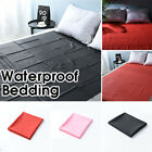 Waterproof Bed Sheet Mattress Cover Full Queen King Size Bedding Pad Protector  image