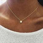 Women Stunning Star Pendant 925 Sterling Silver Necklace Chain Womens Jewellery