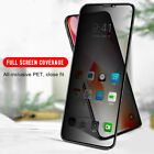 Anti-Spy Screen Protector Privacy Tempered Glass For i Phone X Xs Max Xr Plus UK