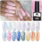 NEE JOLIE 8ml Glitter UV Gel Polish Bling Sequins Soak Off Nail UV Gel Vanish