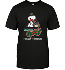 NHL Snoopy Forever Win Or Lose Hockey Minnesota Wild Funny Black T-Shirt S-6XL $19.79 USD on eBay