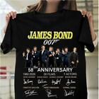 James bond 007 54th anniversary 7 actors cast signed gift fan movie shirt S-5XL $24.34 CAD on eBay