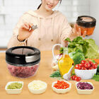 Food Speedy Chopper Spiral Slicer Shredder Onion Garlic Fruit Vegetable Cutter