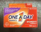 One A Day Women's Formula Multivitamin 100 Tablets DIFF EXP DATES AVAILABLE $8.05 USD on eBay