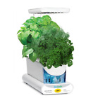 AeroGarden Sprout LED with Gourmet Herb Seed Pod Kit in White Plant Grower New
