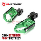 For Ninja 650R Z900 Z650 Z900RS CNC Extended Front Touring Footpegs Pedals