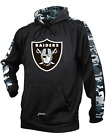 Zubaz NFL Men's Oakland Raiders Pullover Hoodie with Camo Print $39.99 USD on eBay