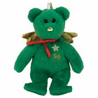 TY Jingle Beanie Baby - GIFT the Bear (Joy - Green Version) (5 inch) - MWMTs