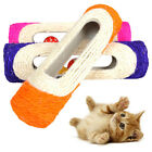 AM_ Pet Cat Scratching Post 3 Rolling Ball Sisal Tunnel Training Interactive Toy