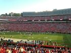 TWO (2) 2020 UGA Georgia Bulldogs LOWER SIDELINE AISLE Football Season Tickets! $2195.0 USD on eBay