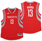 adidas NBA Boys Youth Houston Rockets James Harden #13 Swingman Road Jersey, Red on eBay