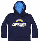 OuterStuff NFL Youth/Kids Los Angeles Chargers Streaky Performance Hoodie, Navy $24.99 USD on eBay