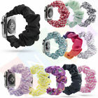 Scrunchie Fashion Loop Band Strap For Apple Watch iWatch Series 5/4/3/2/1 image