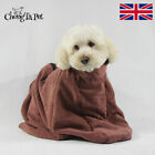 Microfibre Dog Dry Bath Towel Bag Fast Drying Doggy Cleaning Absorbent