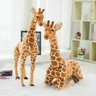 Внешний вид - Huge Real Life Giraffe Plush Toys Cute Stuffed Animal Dolls Soft Simulation Gift