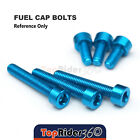 Billet Fuel Tank Cap Bolts For Triumph Speed Triple 955i Sprint 1050 ST 2005+ $13.95 USD on eBay