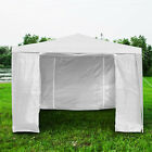 3mx3m Gazebo Waterproof Marquee Canopy w/4 Sides Outdoor Garden Patio Party Tent
