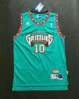 NEW Vancouver Grizzlies #10 Mike Bibby Green Basketball Jersey Size: S-XXL on eBay