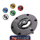 REVO CNC Quick Release Gas Fuel Cap For Street Triple 675 765 Speed Triple 1050 $59.85 USD on eBay