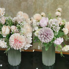 13 Heads Real Touch Artificial Silk Flowers Bridal Wedding Bouquet Home Decor
