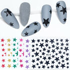 3D Nail Stickers Little Star Pattern Transfer Decals Nail Art Paper Decoration