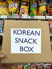 Korean Snack collection in a Box Jelly Chips Chocolate Pie candy K-food  + Kpop