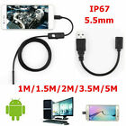 Camara Endoscopica Inspection HD 6 LED Endoscope Camera Waterproof For Android