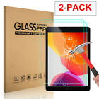 2x Tempered Glass Screen Protector For iPad 9.7 10.2 7th 5th 6th Mini 4 Air Pro