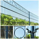 Home Deluxe Double Rod Matt Fence Industrial Fence Grid Fence