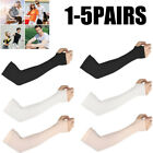 1-5p Cooling Arm Sleeves Cover Uv Sun Protective Outdoor Sports Gear Basketball