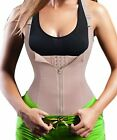 Eleady Women's Underbust Corset Waist Trainer Cincher Steel Boned Body Shaper Ve
