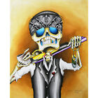 Lost Cause by Dave Sanchez Mexican Skeleton Unframed Canvas or Art Print Poster
