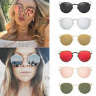 Oversized Round Sunglasses Men Women's Vintage Retro Mirror Fashion Glasses 2019