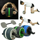 Abdominal Roller Ab Carver Muscle Exerciser Wheel Abs Fitness Workout W/Knee Mat image