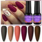 8ml PICT YOU Red Series UV Gel Nail Polish Soak Off Nail Art Gel Varnish Decor