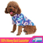 Hawaiian Pet Dog Polo T Shirts Cute for  Puppy Cats Cool Summer Custom Vest
