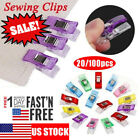 Kyпить 20/100PCS Plastic Sewing Clips Clamp for Craft Quilting Sewing Knitting Crochet на еВаy.соm